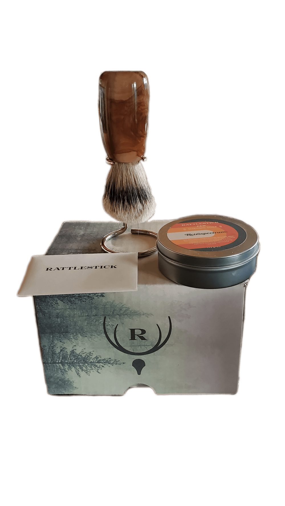 Rattlestick Discover the Ritual - Brush, Stand, Soap