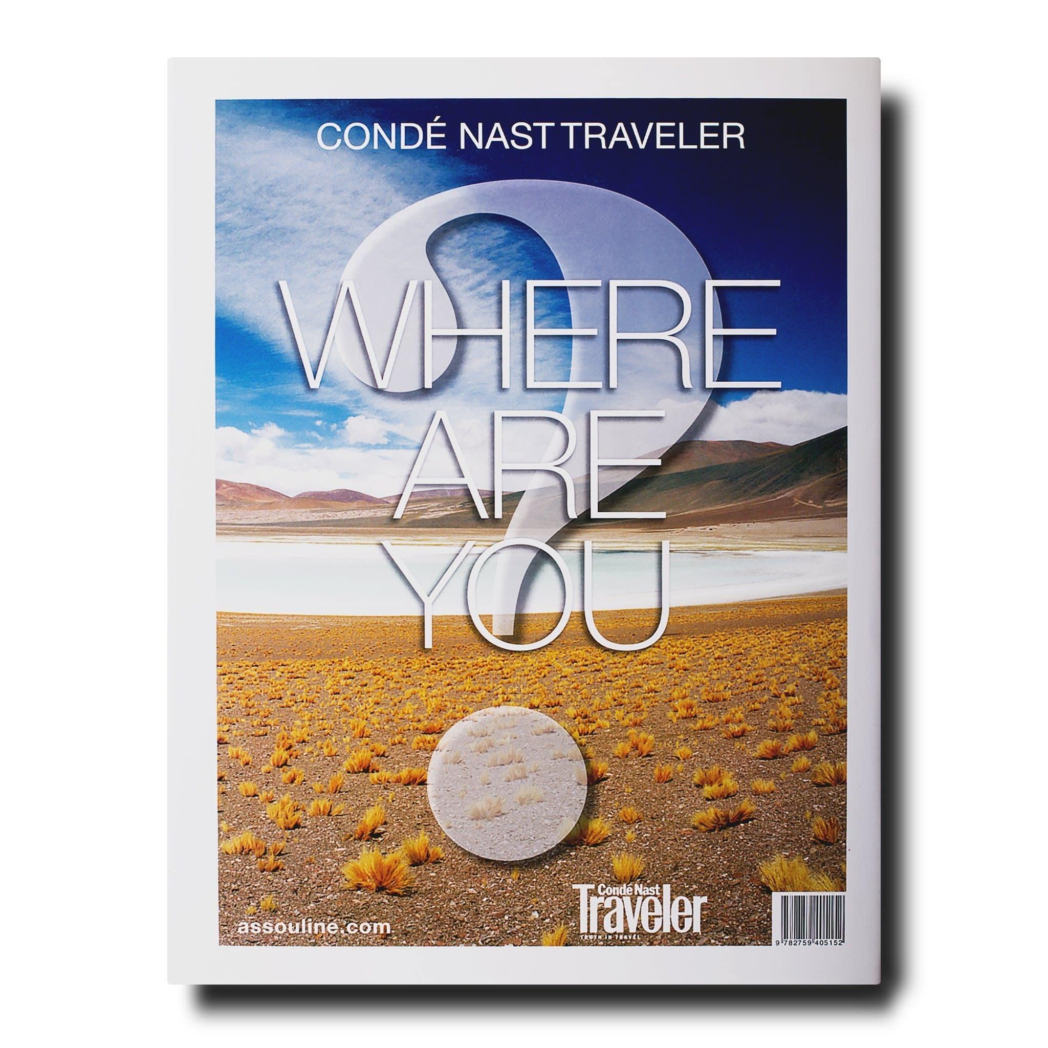 Assouline Conde Nast Traveler Where Are You?