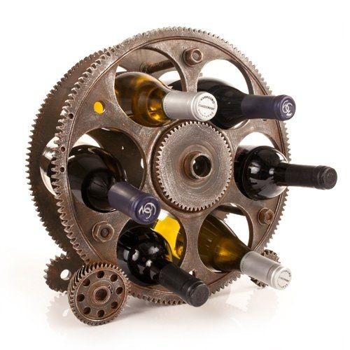 True Gears and Wheels Bottle Rack