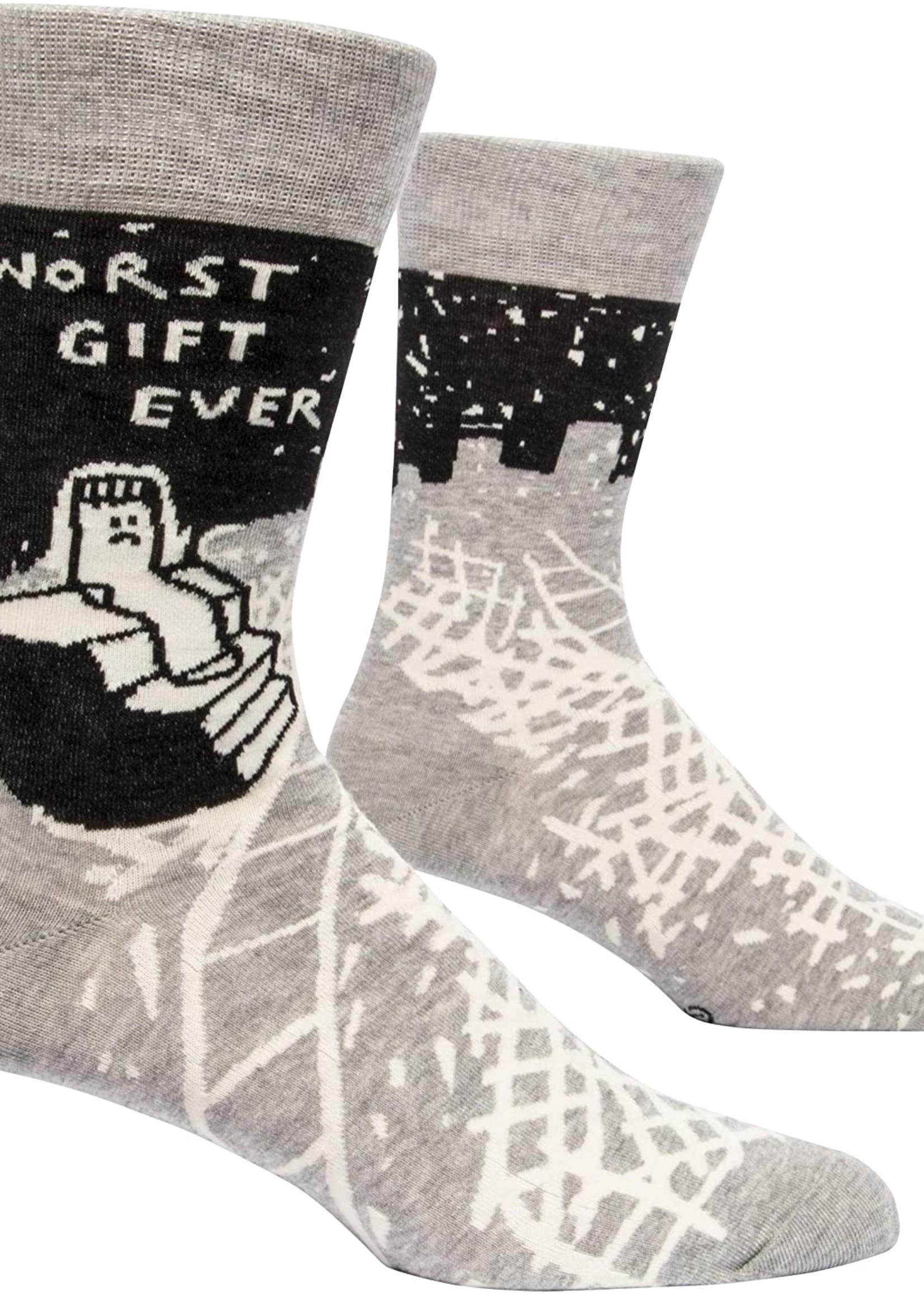 Blue Q Blue Q Men's Socks Worst Gift Ever