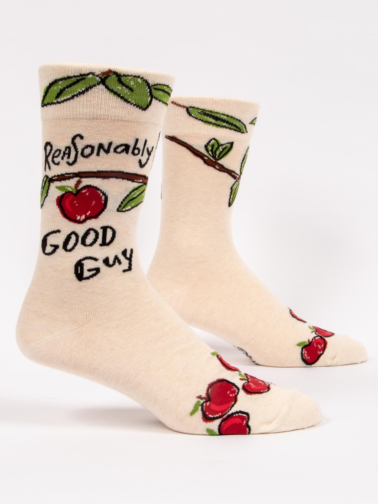 Blue Q Men's Socks Reasonably Good Guy