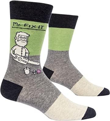 Blue Q Men's Socks Mr. Fix It