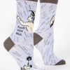 Blue Q Women's Socks Fuck This Shit