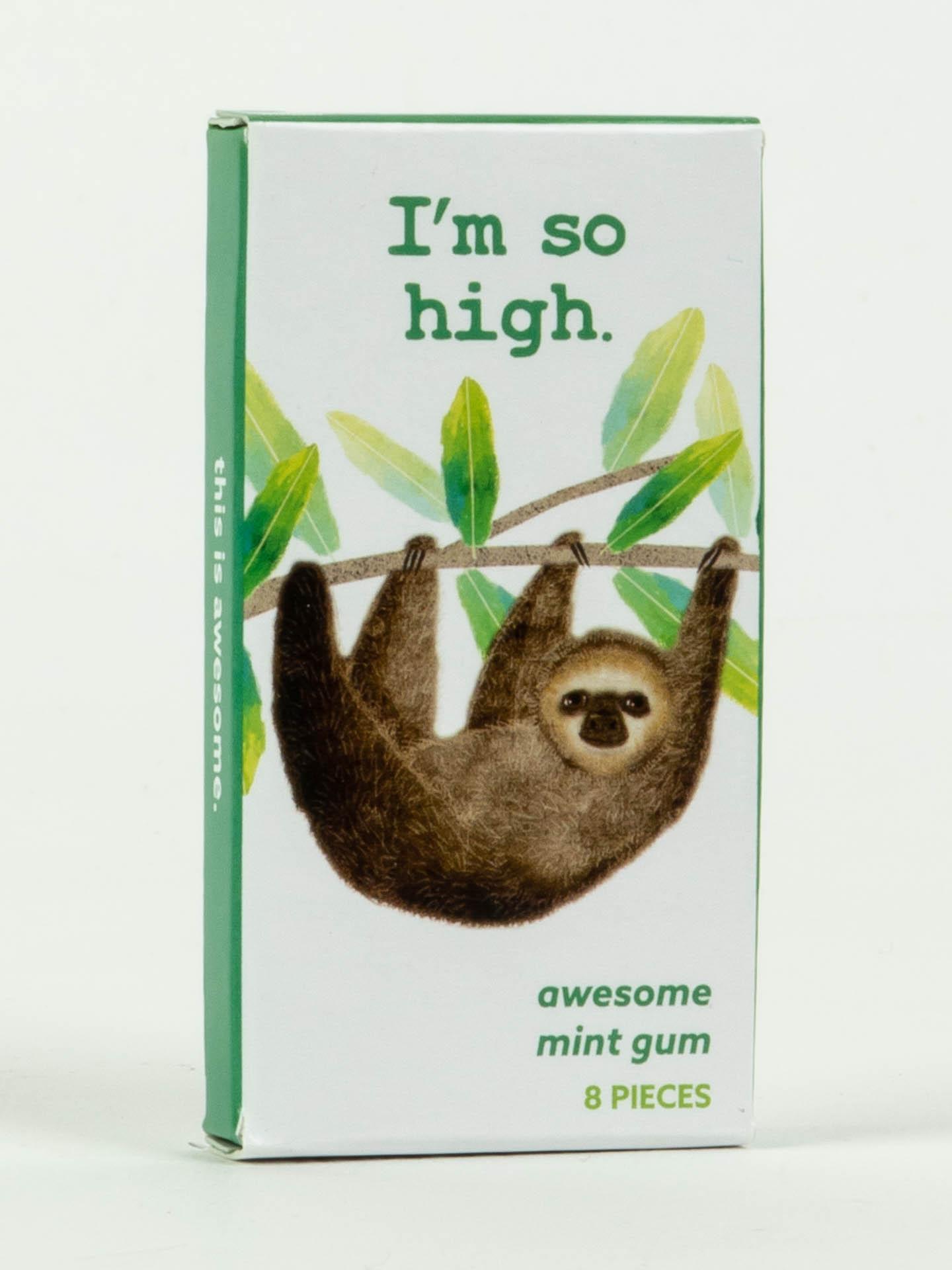 Blue Q Gum I'm So High