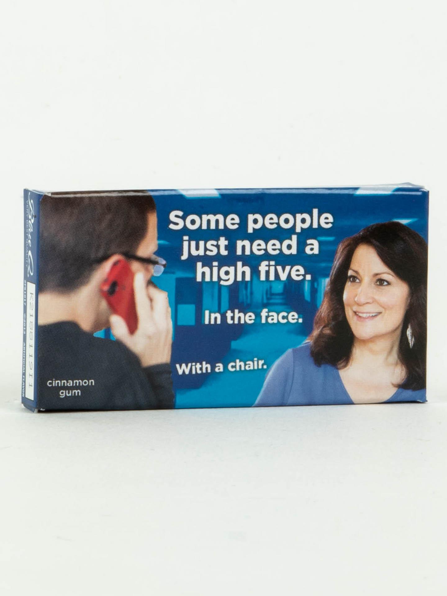 Blue Q Gum High Five