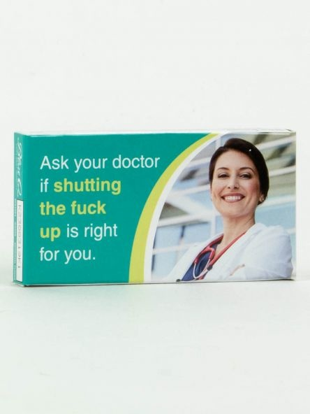 Blue Q Gum Ask Your Doctor