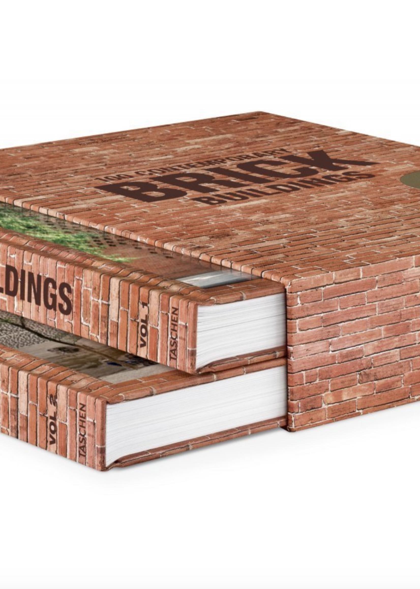 Taschen Taschen 100 Cont. Brick Buildings