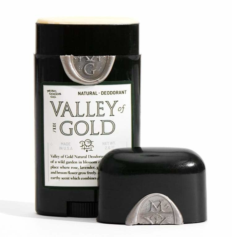 Misc. Goods - Natural Deodorant Valley of Gold
