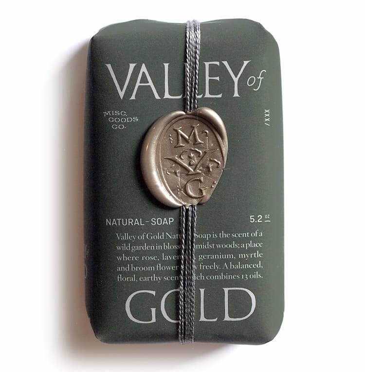 Misc. Goods - Natural Soap Valley Of Gold