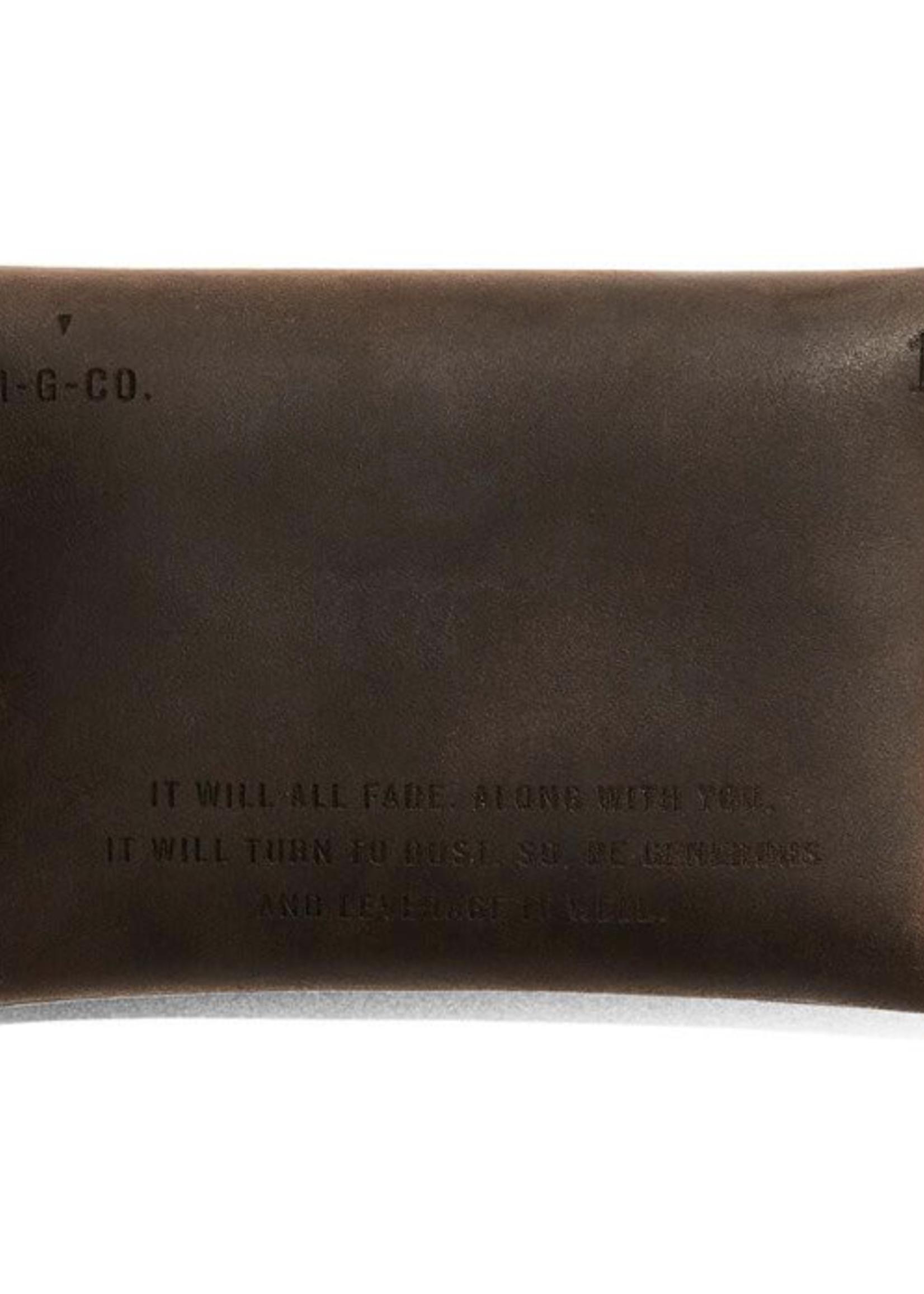 Misc. Goods Misc. Goods - Leather Wallet