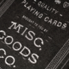 Misc. Goods - Playing Cards