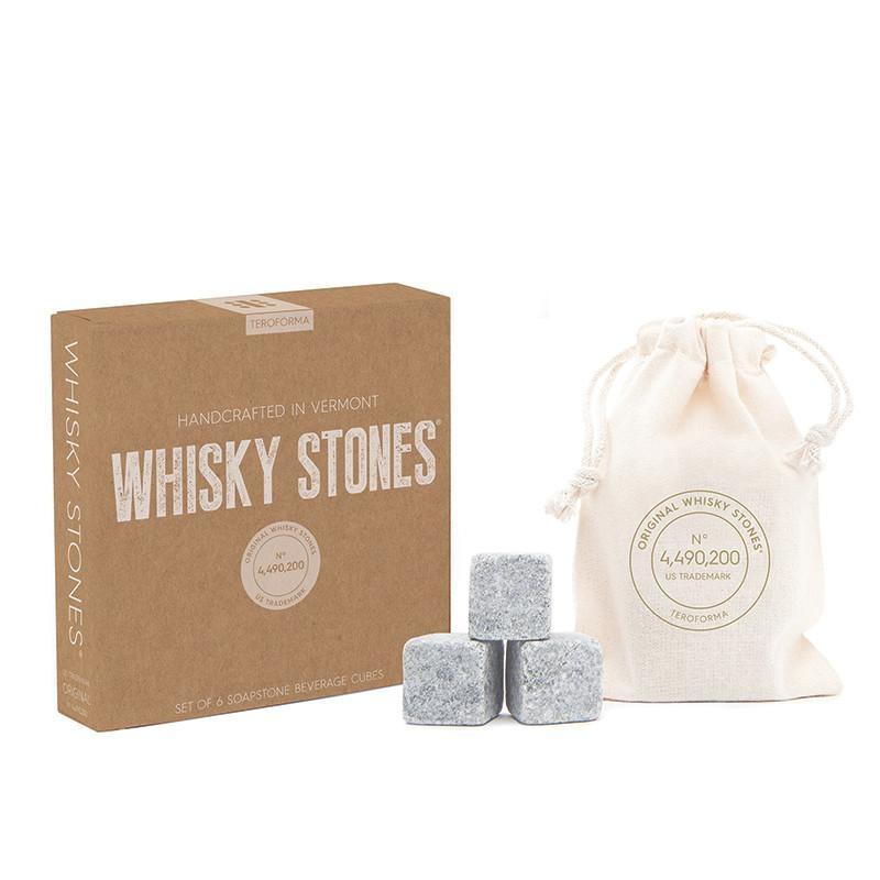 Teroforma Whisky Stones Beverage Cubes S/6 Craft