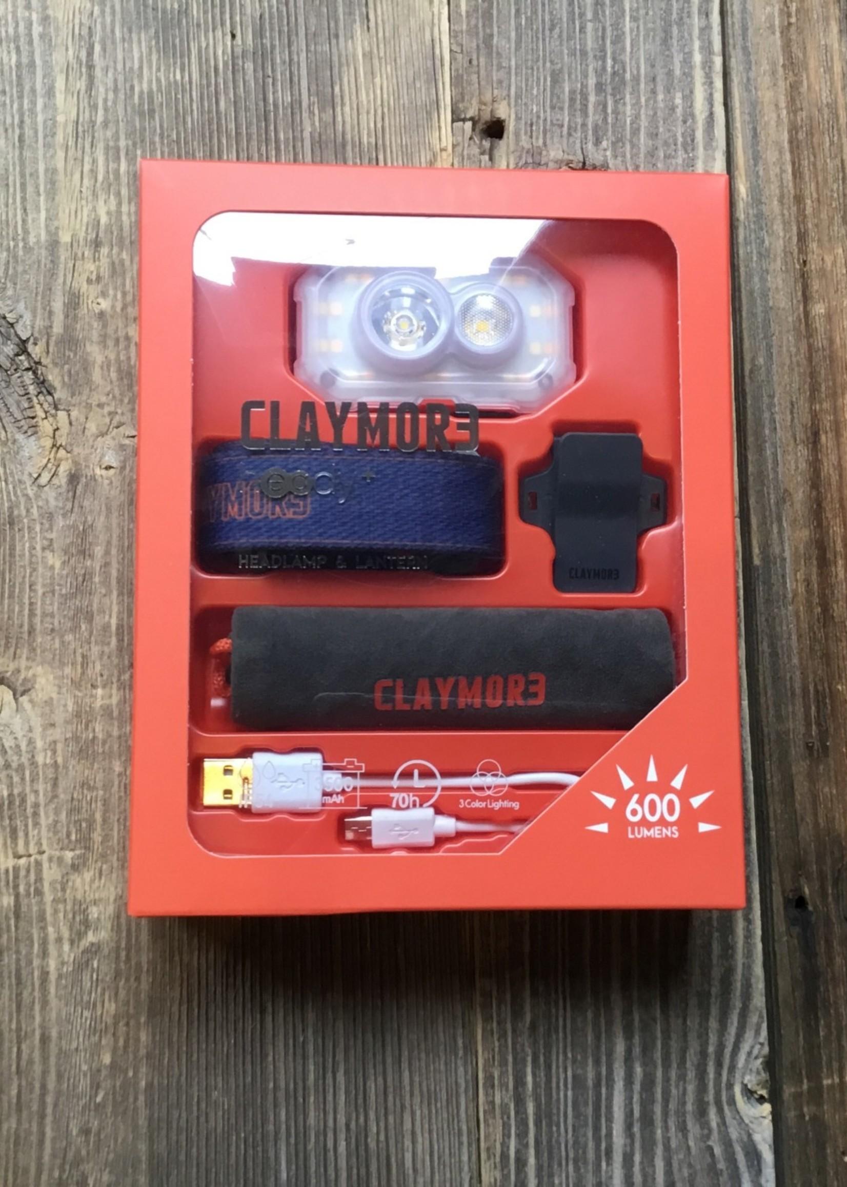 CLAYMOR3 CLAYMOR3 Rechargeable Headlamp Heady+