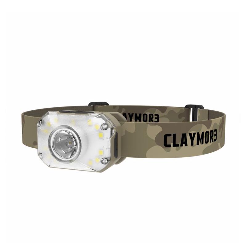 CLAYMOR3 Rechargeable Headlamp Heady 2