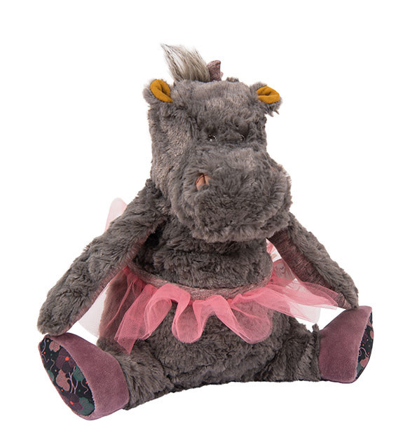 Moulin Roty Camelia Hippo Soft Toy