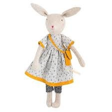 Moulin Roty Rose Mommy Rabbit Doll
