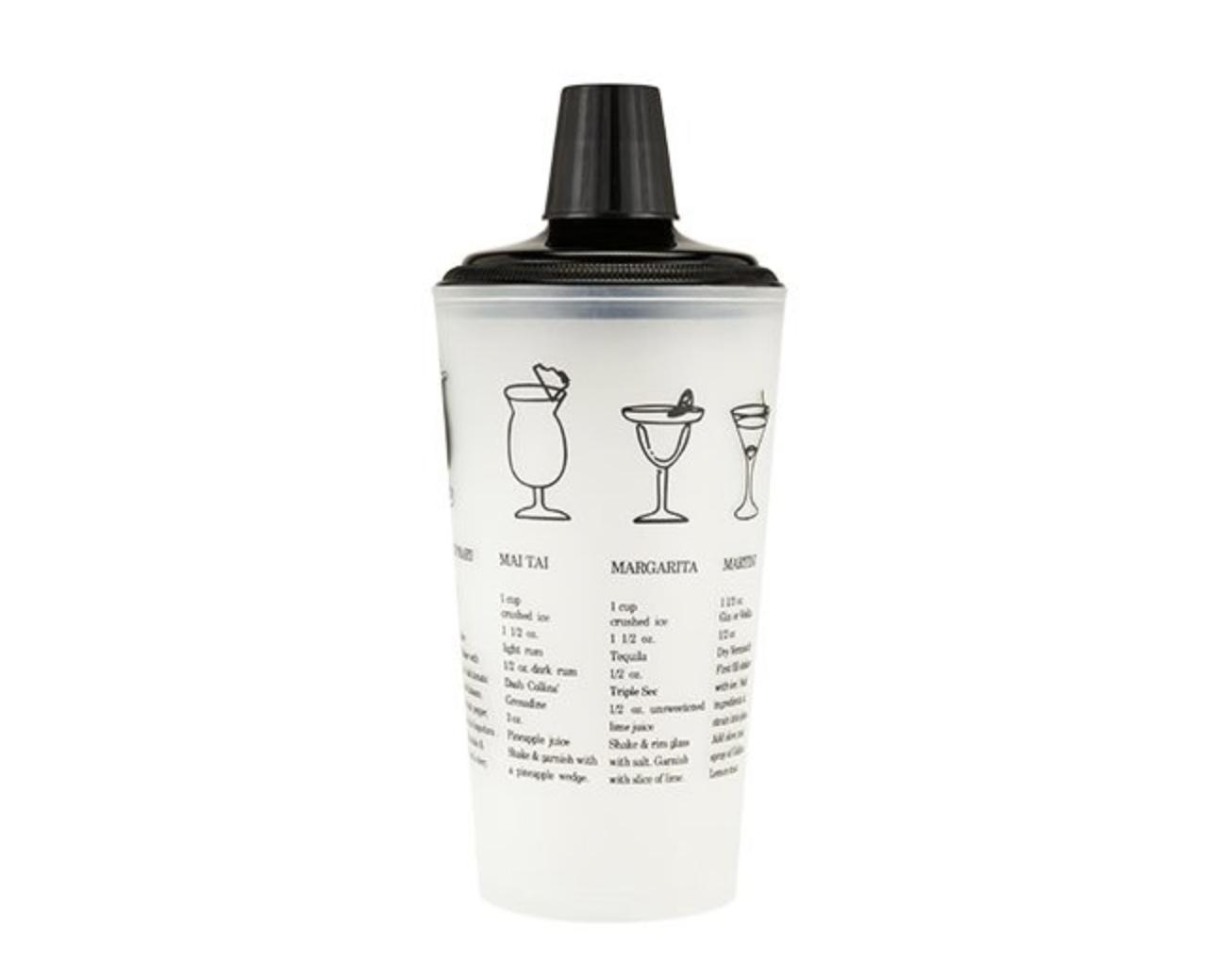 True 30oz Black Recipe Shaker
