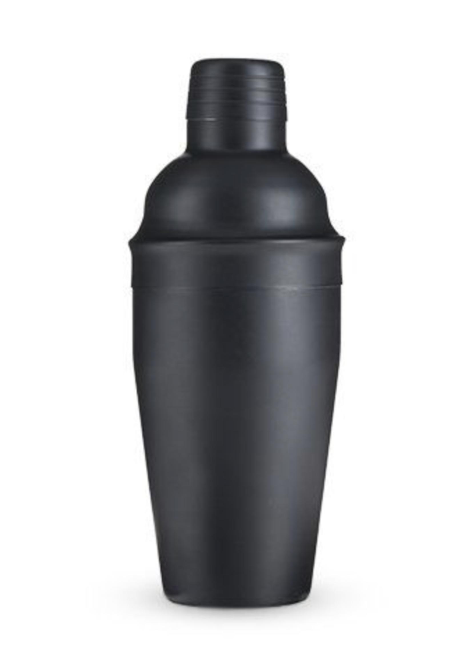 True True Matte Black Cocktail Shaker
