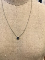 Covenant Covenant Mini Hex Necklace 14kt White Gold