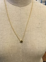 Covenant Covenant Mini Hex Necklace 14kt Yellow Gold