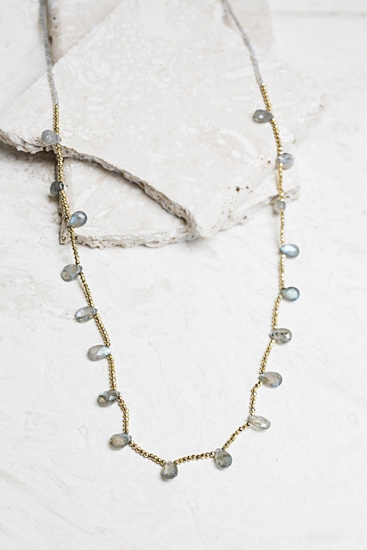 Joya Guinevere Necklace Labradorite