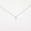 Covenant Cross Necklace 14kt White Gold