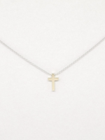 Covenant Covenant Cross Necklace 14kt White Gold