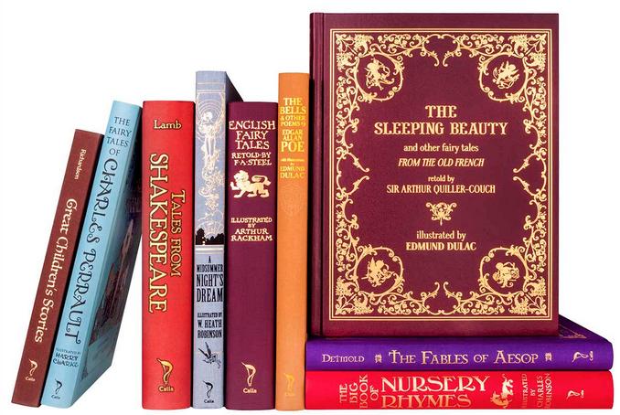 Juniper Beautiful Oversized Illustrated Classics