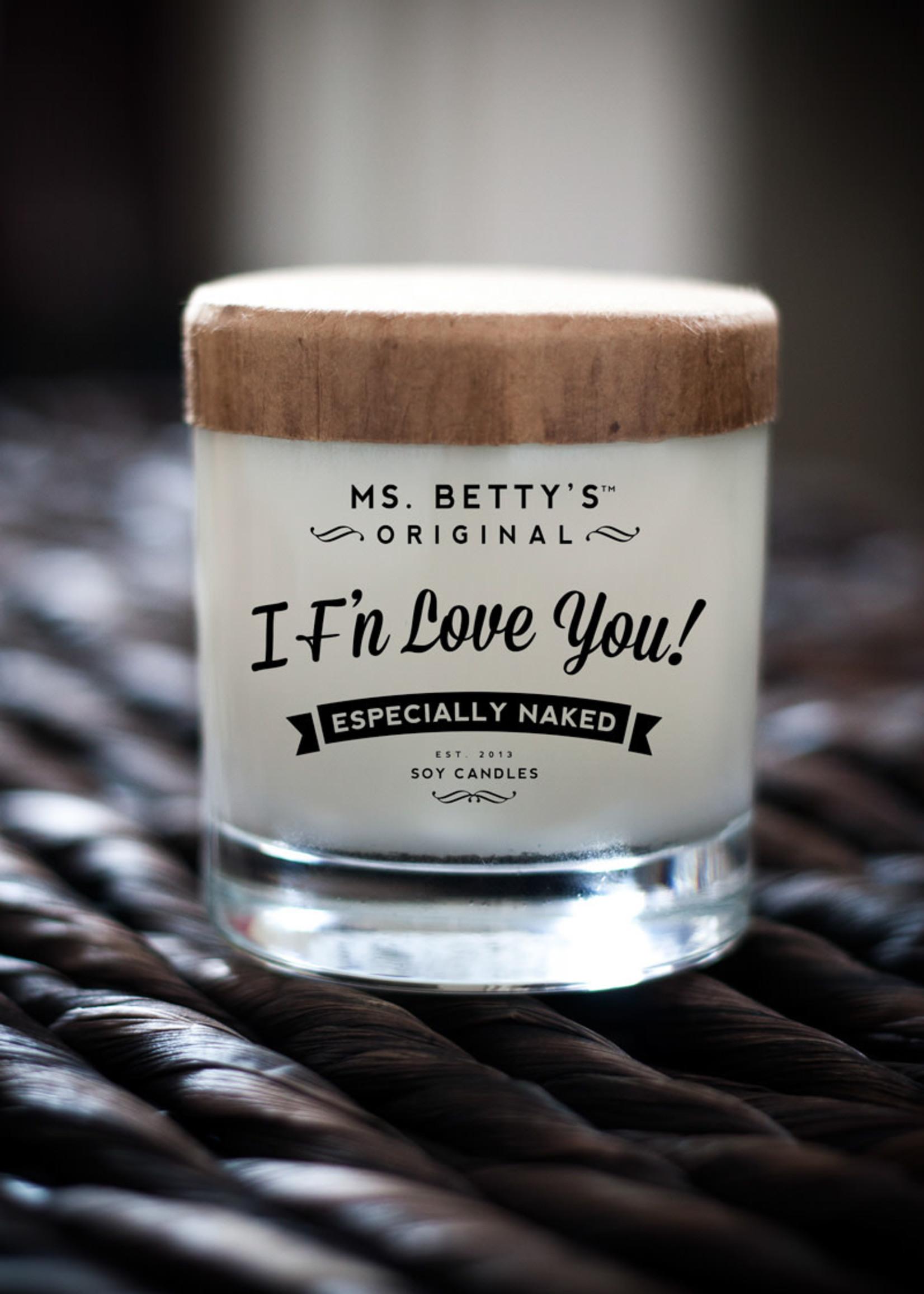 BaddassCandle Badass Candle I F'n Love You