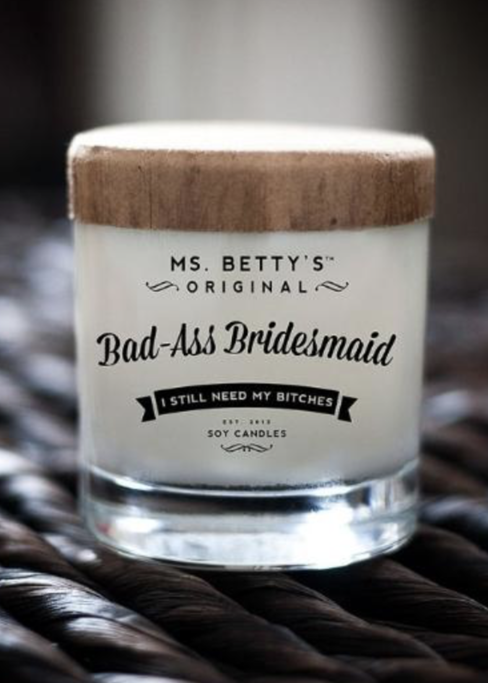 BaddassCandle Badass Candles Bad-Ass Bridesmaid