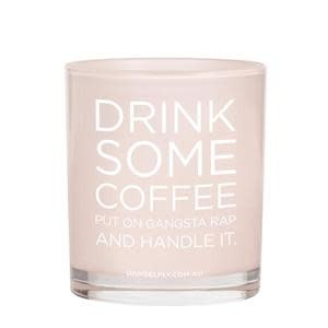 Damselfly Drink Some Coffee