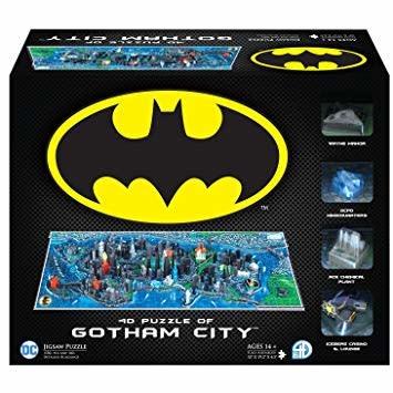 4D Cityscape Puzzles - Gotham City - Batman