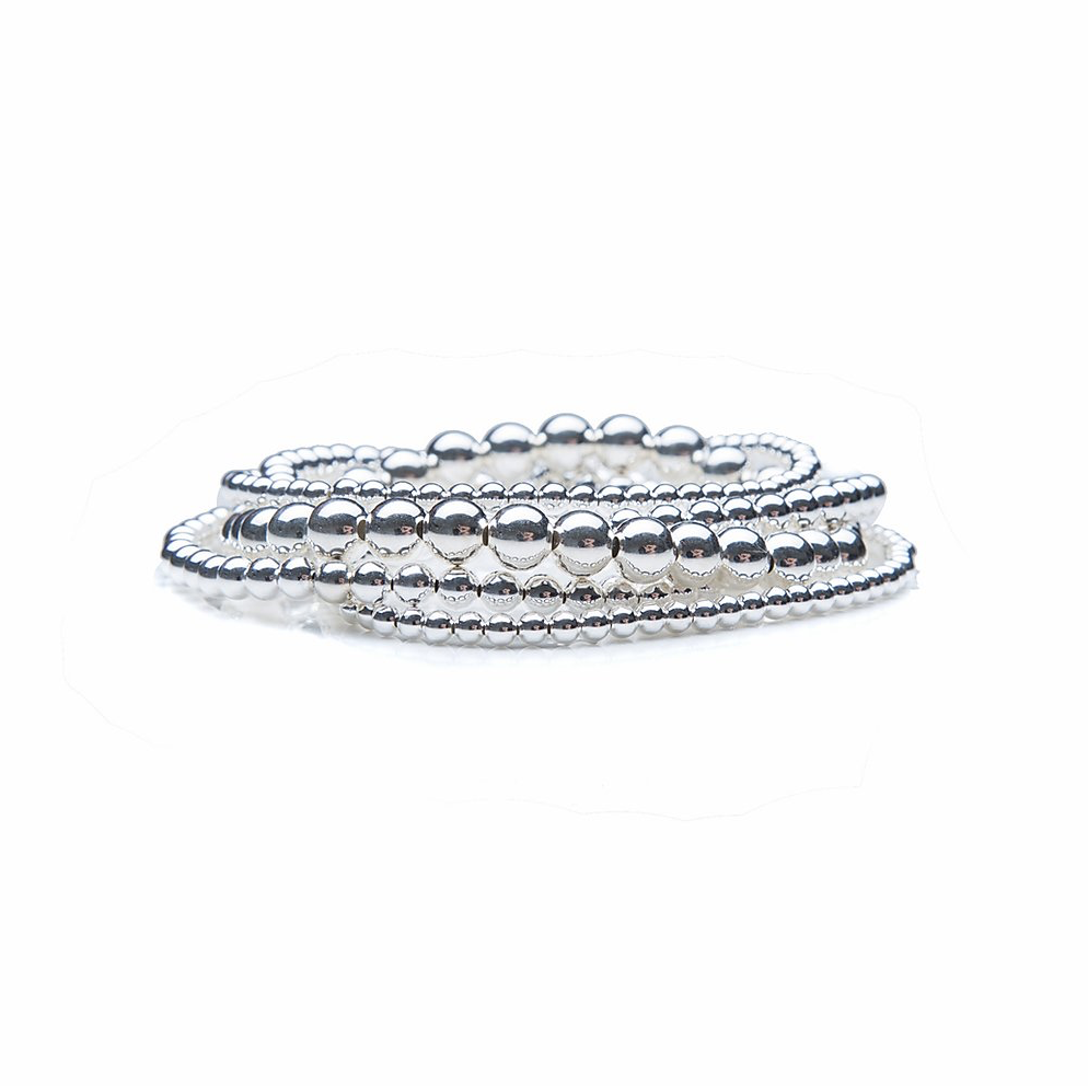 Annabelle's Collection Mixed Silver Stack