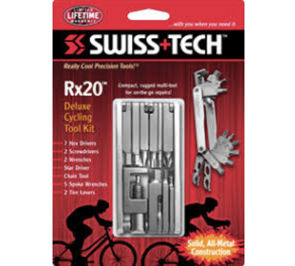 Swiss Tech Rx20 Deluxe Cycling Tool