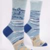 Blue Q Crewsocks Ocean Gets Me