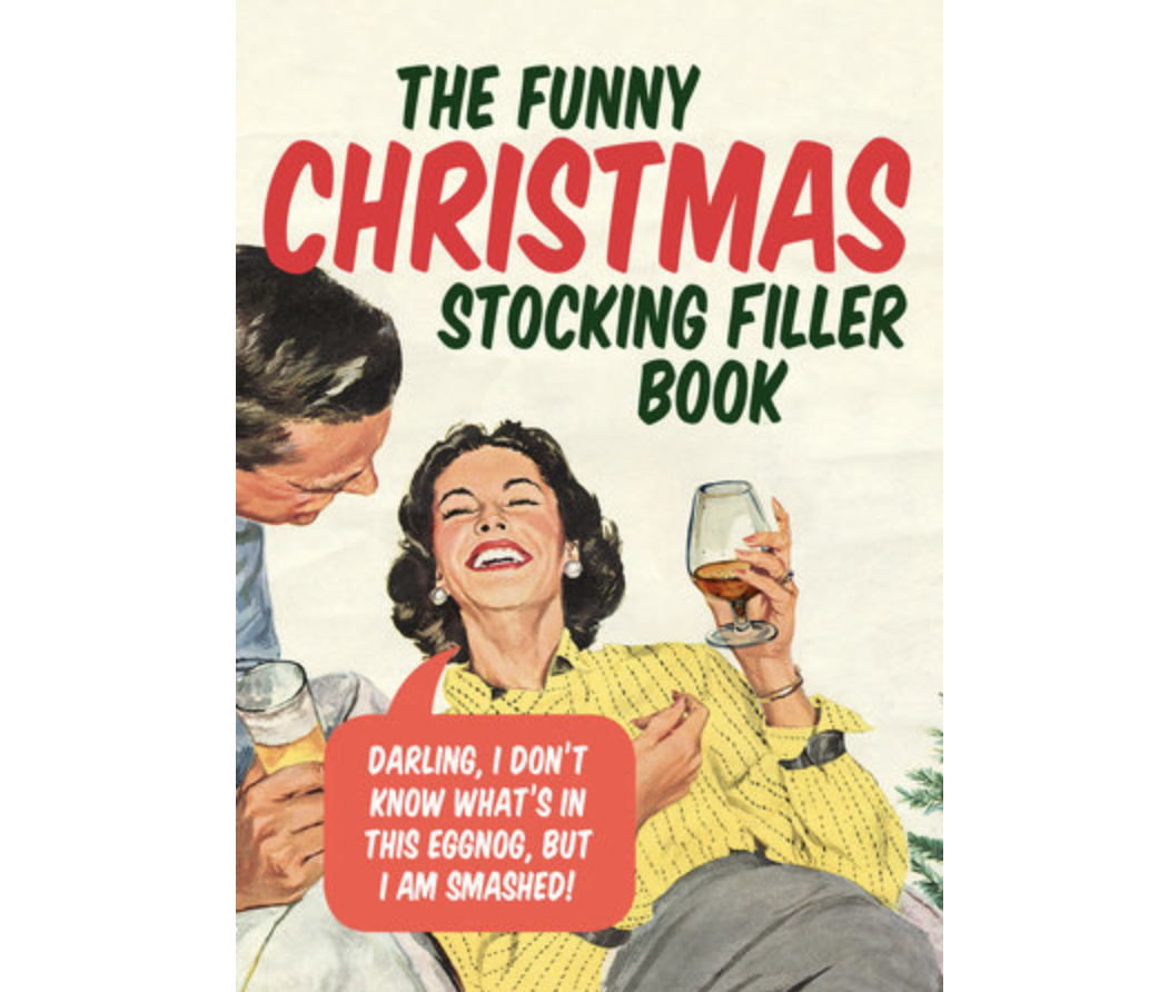 Funny Christmas Stocking Fille - Ebury
