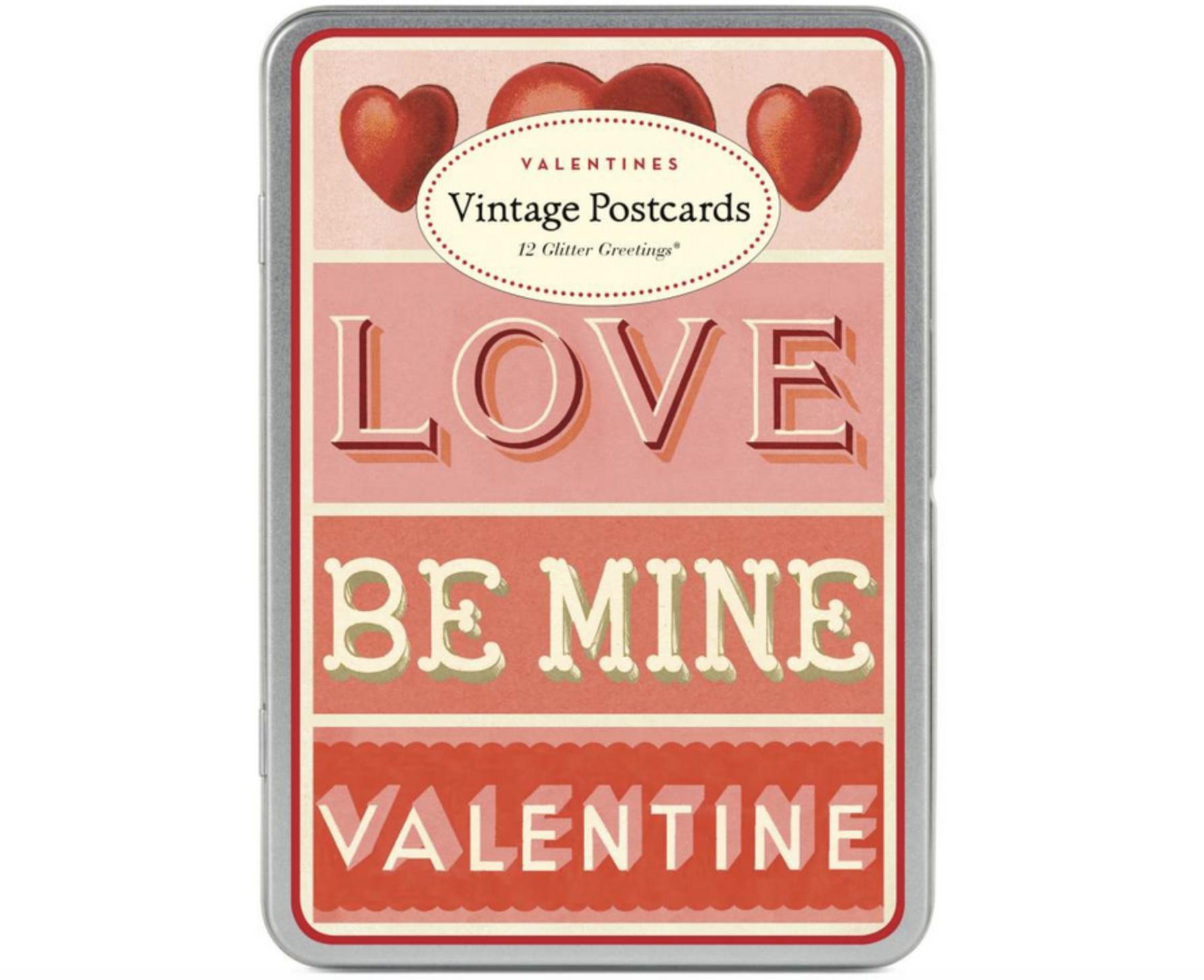 Cavallini Vintage Valentines Postcards 2