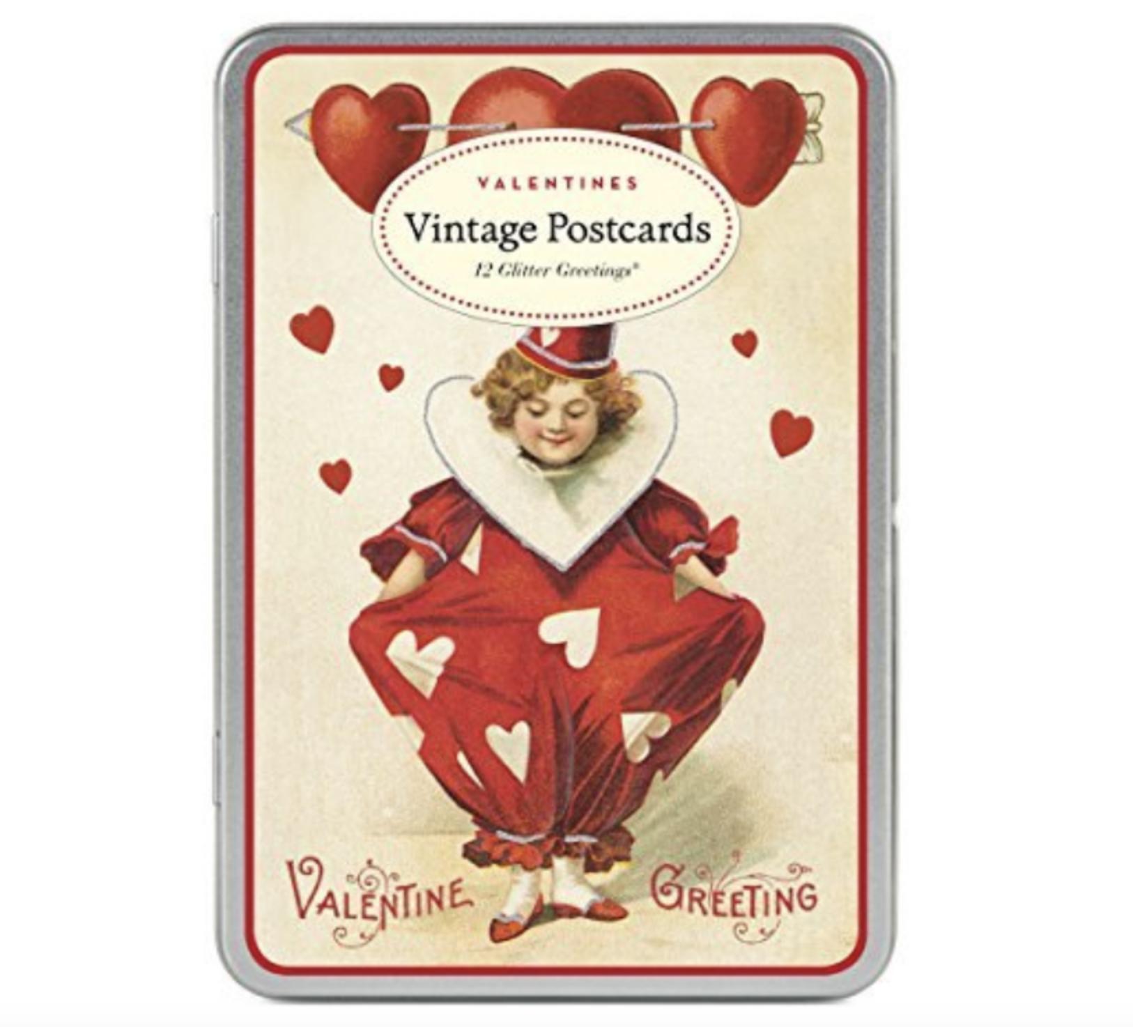 Cavallini Vintage Valentines Postcards