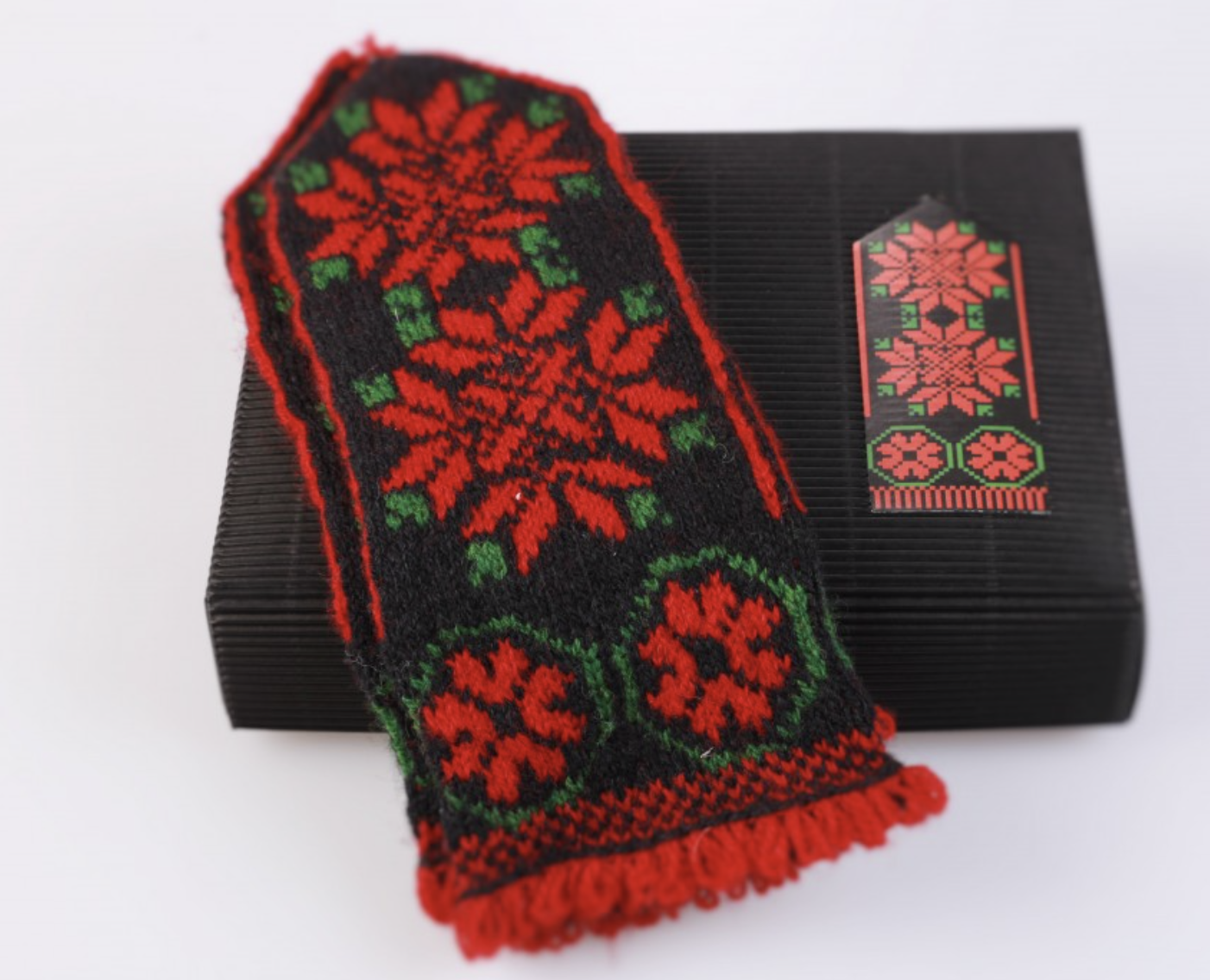 "Hobbywool Mittens Knitting Kit ""Kurzeme"" No.6"