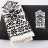 "Hobbywool Mittens Knitting Kit ""Latvian Gray"" No.8"