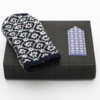 "Hobbywool Mittens Knitting Kit ""Midnight Flakes"" No.4"