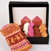 "Hobbywool Mittens Knitting Kit ""Muhu"" No.1"