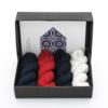 "Hobbywool Mittens Knitting Kit Midnight Flakes"" No.11"