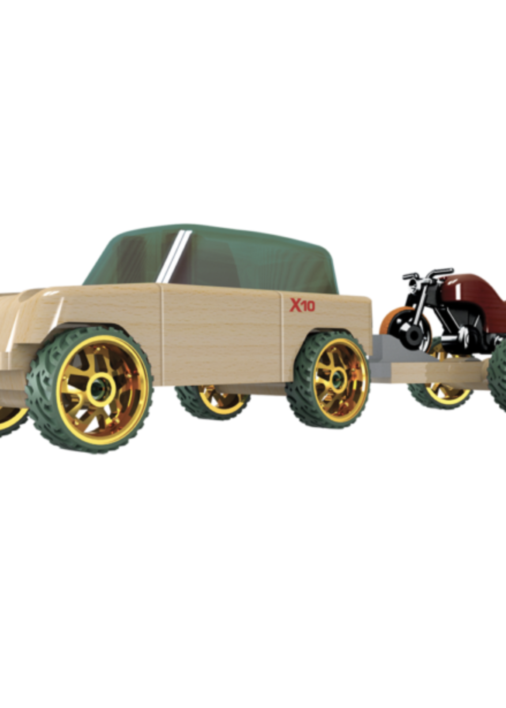 Automoblox Automoblox: Mini X10 Timber Pack