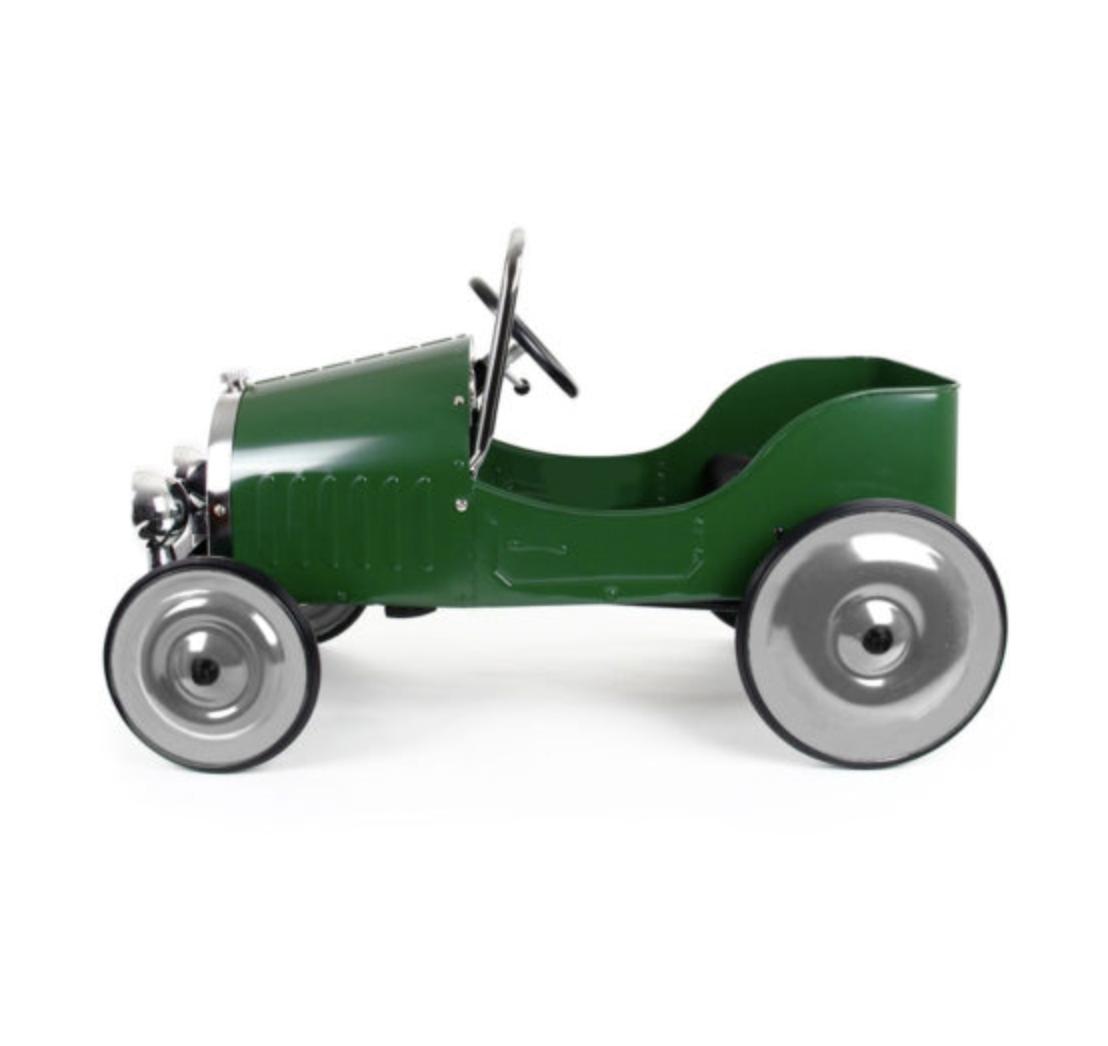 Baghera Classic Pedal Car Green