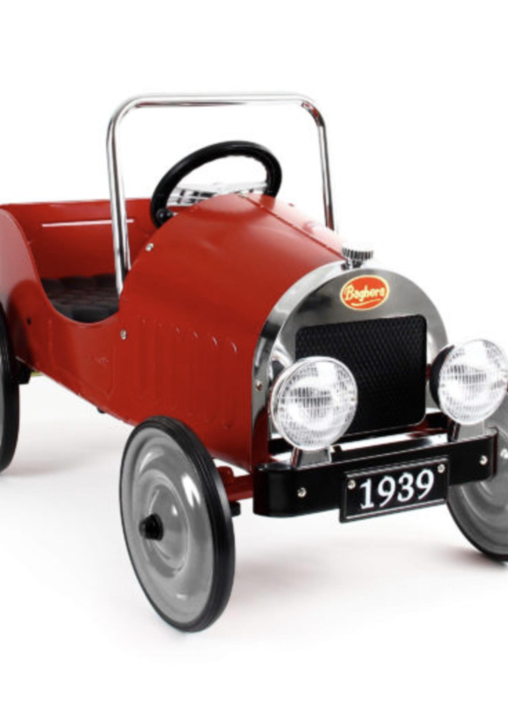Baghera Baghera Classic Pedal Car Red