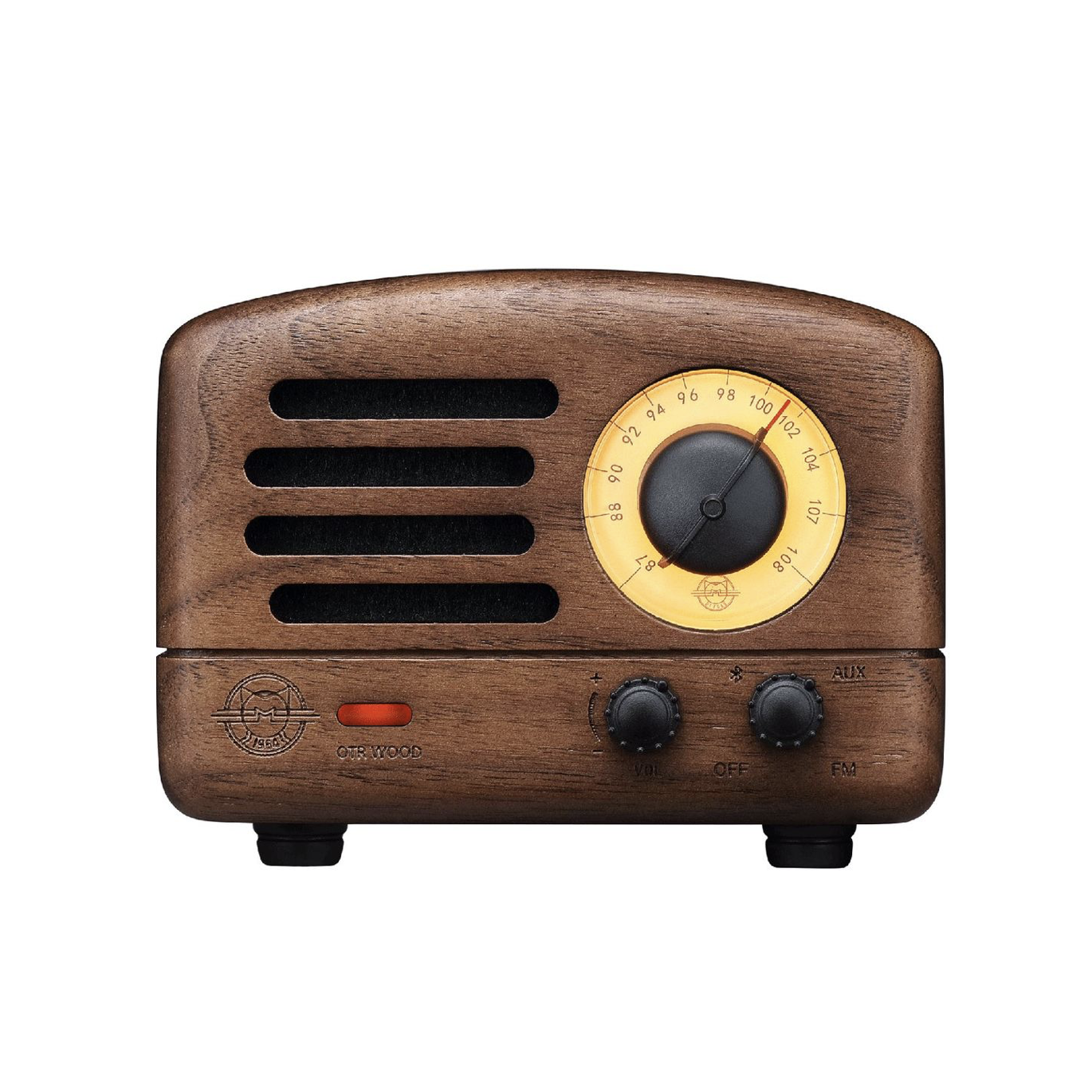 Muzen Bluetooth Speaker OTR Wood Walnut