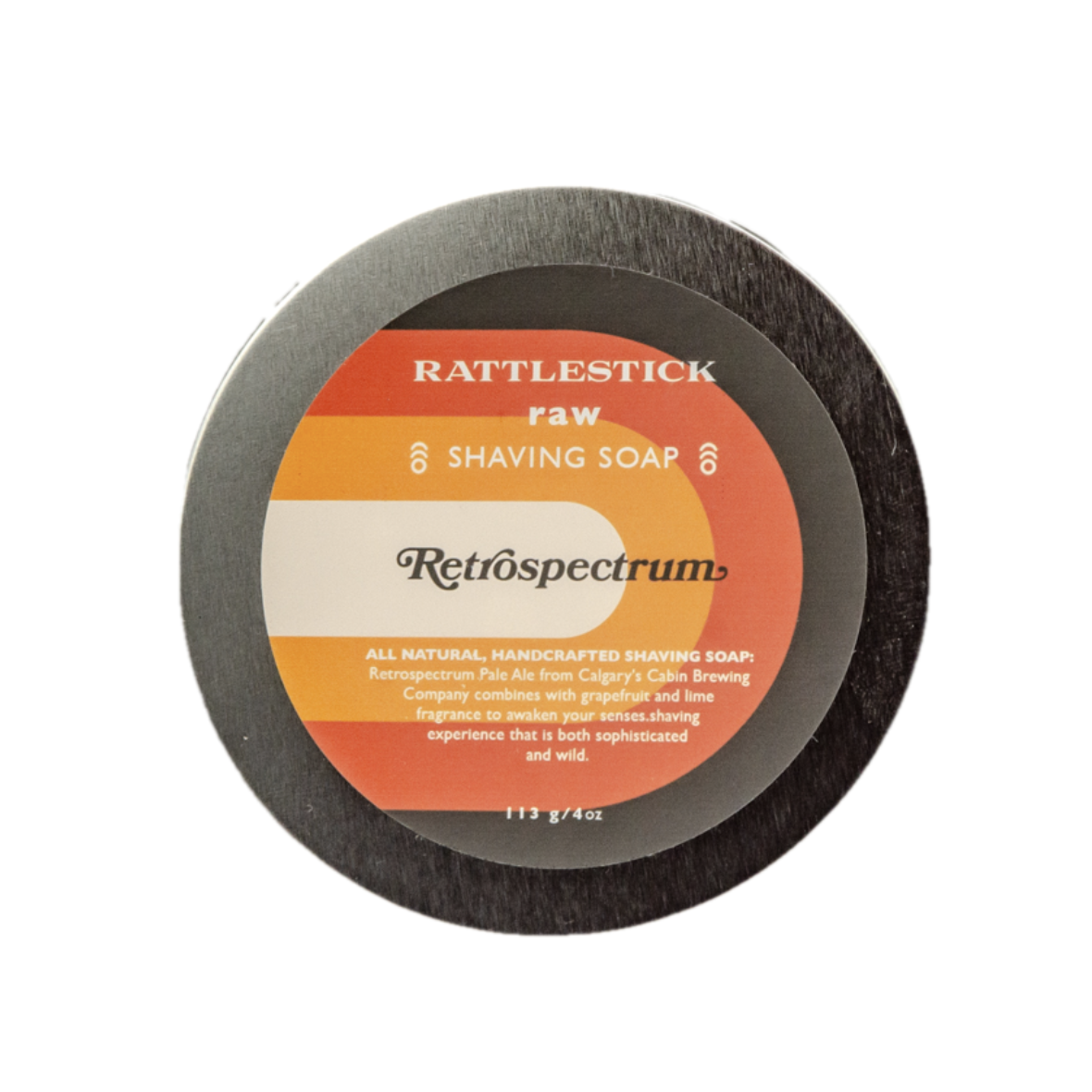 Rattlestick Shaving Soap - Retrospectrum