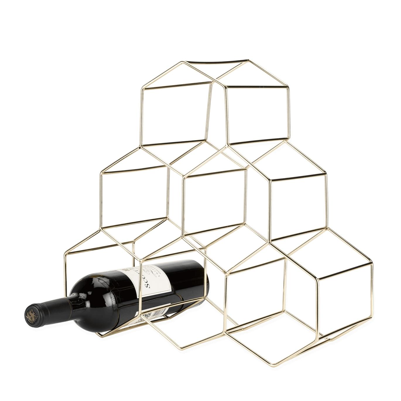 Viski Belmont: Geo Wine Rack
