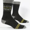 Blue Q Men's Socks Selective Hearing